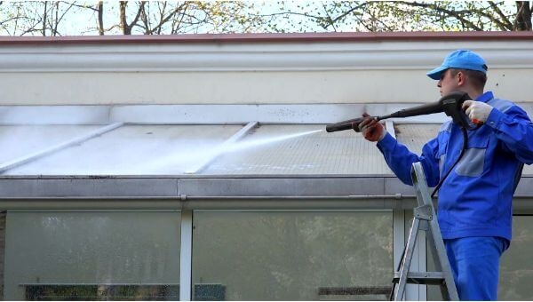 Mr. Dirt Blaster local partner Central Alabama Pressure Washing pressure washing roofs 0039