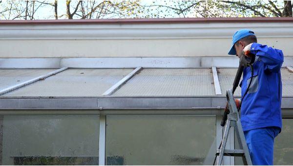 Mr. Dirt Blaster local partner Amelia Island Services LLC pressure washing roofs 0083