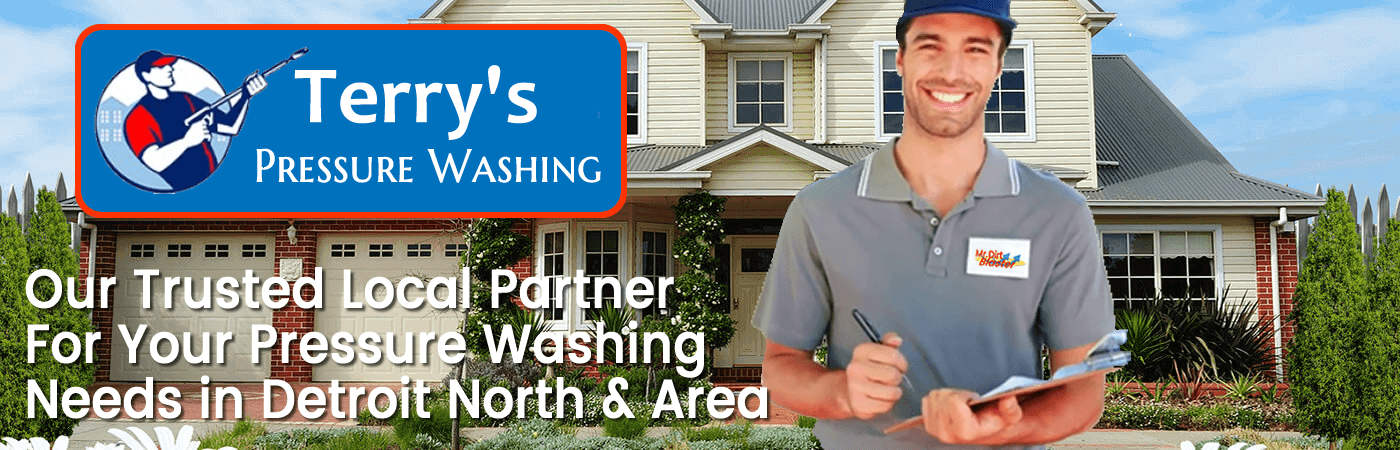 Power Washing in Detroit, Michigan Area on the North Side Header Image