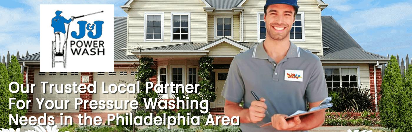 Pressure Washing in Philadelphia Header Image