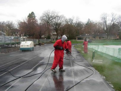 Mr Dirt Blaster Chicago IL Pressure Cleaning Concrete