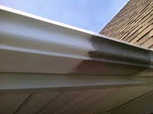Mr Dirt Blaster Fort Worth Pressure Washed Gutter Before After