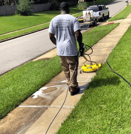 Mr Dirt Blaster Mobile AL Sidewalk Pressure Washing