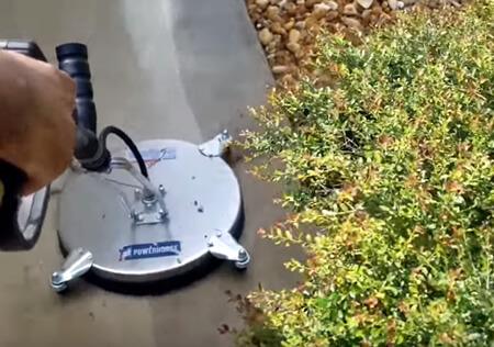 Power Wash a Concrete Driveway