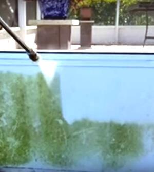 Mr. Dirt Blaster Pressure Washing Outdoor Kitchen Cabana Pt 1