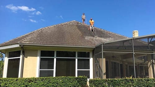 Tile Roof Cleaning-Orange Pressure Washing Orlando-Mr Dirt Blaster Local Partner