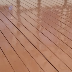 Pressure Washing Decks in the Detroit area