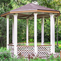 Pressure Washing Gazebos & Cabanas in the Pensacola area